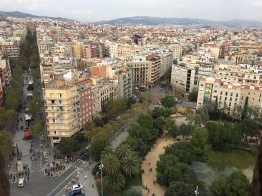 View from La Sagrada Tower