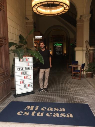 Hip Lobby at Casa Bonay
